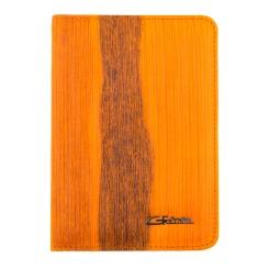 Обложка для документов из натуральной кожи с интересной фактурой от Giorgio Ferretti, арт. 00019-A444 orange GF