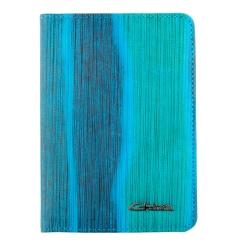 Обложка для документов из яркой голубой натуральной кожи от Giorgio Ferretti, арт. 00019-A445 blue GF