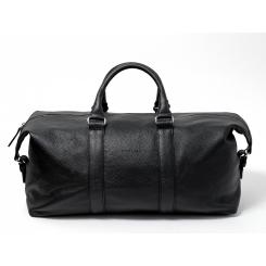 Черная повседневная дорожная сумка из натуральной кожи, модель для мужчин от Hadley, арт. Blackwood
