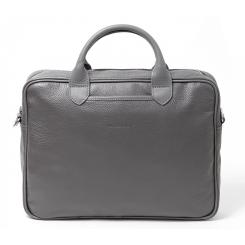 Серая мужская сумка с ручками в классическом стиле от Hadley, арт. Camp Gray