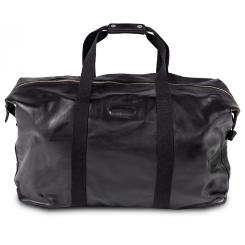 Черная кожаная сумка для мужчин, модель в дорожно-спортивном стиле от Hadley, арт. Carl Black