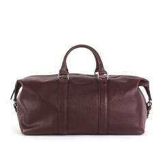 Дорожная мужская сумка из натуральной кожи бордового цвета от Hadley, арт. Garnetwood
