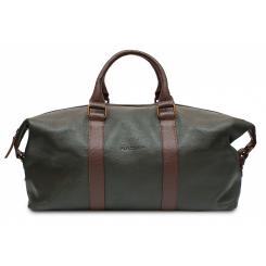 Дорожная мужская сумка из натуральной кожи темно зеленого цвета от Hadley, арт. Greenwood