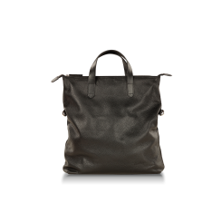 Большая кожаная мужская сумка черного цвета с кожаными ручками от Hadley, арт. Harrow Black