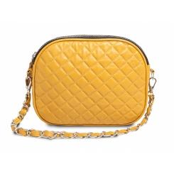 Элегантная женская сумка на плечо с удобным наплечным ремешком-цепочкой от Hadley, арт. Lemon Candy