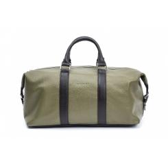 Практичная дорожная кожаная сумка из натуральной кожи для поездок и фитнеса от Hadley, арт. Olivewood