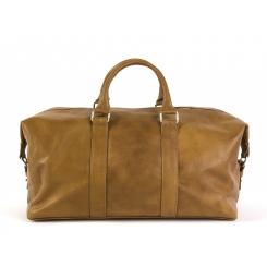 Стильная дорожная мужская сумка из натуральной кожи горчичного цвета от Hadley, арт. Yellowwood