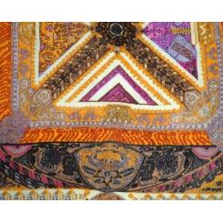 Женский платок из натуральной шерсти с геометрическим рисунком от Leo Ventoni, арт. HR100916-1