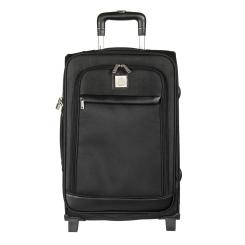Вместительный черный чемодан-тележка, модель для путешествий от Mano, арт. mpt 1
