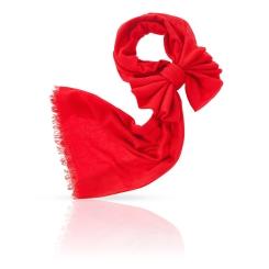 Женский палантин из натурального кашемира красного цвета от Michel Katana, арт. C-CAS50_26S.1/ROUGE