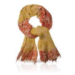 Женский палантин из натуральной шерсти цвета золотой осени от Michel Katana, арт. W-BAMBOO/GOLD
