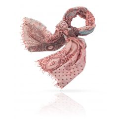 Женский палантин из качественной и мягкой натуральной шерсти от Michel Katana, арт. W-EURO.TILE/TAUPE