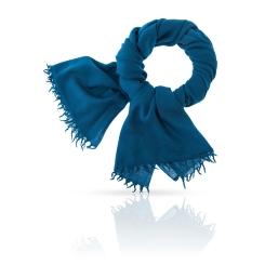 Элегантный женский палантин из натуральной шерстит насыщенного синего цвета от Michel Katana, арт. W-LAINE/SEAPORT