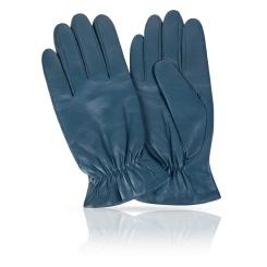 Мужские перчатки из мягкой и плотной натуральной кожи ягненка от Michel Katana, арт. K11-TULLYER/TEAL