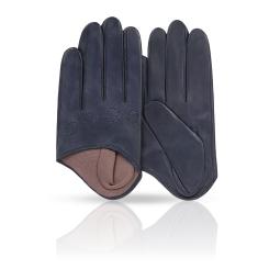 Небольшие и стильные женские перчатки из натуральной кожи ягненка от Michel Katana, арт. K81-IF1/ENCRE