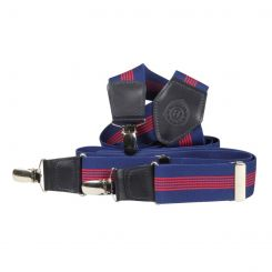 Подтяжки Miguel Bellido 40528 navy blue/red strip