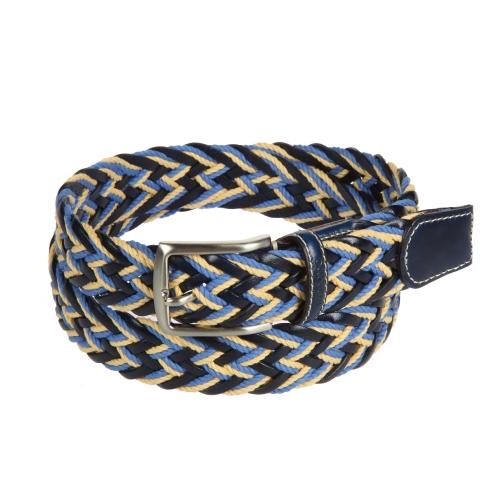 Ремень Miguel Bellido unisex 910/35 1906/12 blue/beige