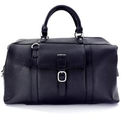 Мужская дорожная сумка из натуральной кожи, хорошо подходит для поездок от Giorgio Ferretti, арт. 055 Q11 black GF