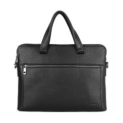 Вместительная мужская кожаная деловая сумка с секцией под ноутбук от Pellecon, арт. 102-21559-1