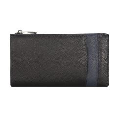Компактная мужская сумка-клатч из черной натуральной кожи от Pellecon, арт. 102-33343-1