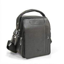 Практичная мужская сумка компактного размера, выполненная из натуральной кожи от Pellecon, арт. 102-800-1