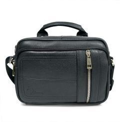 Маленькая мужская сумка через плечо из натуральной кожи высокого качества от Pellecon, арт. 102-876-1