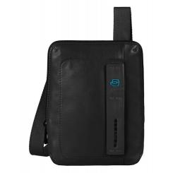Мужская сумка планшет из натуральной кожи с карманом для смартфона от Piquadro, арт. CA3084P15/N