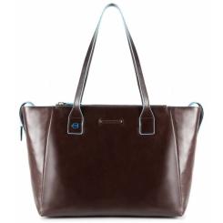 Стильная и вместительная женская сумка из натуральной кожи высокого качества от Piquadro, арт. BD3883B2/MO