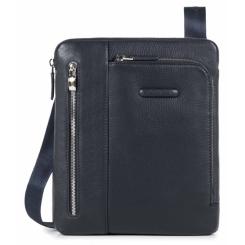 Стильная мужская сумка планшет из мягкой и приятной на ощупь натуральной кожи от Piquadro, арт. pq-409524