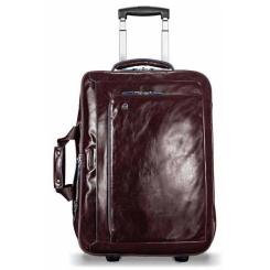 Мужская дорожная сумка с выдвижной ручкой, из натуральной кожи с глянцем от Piquadro, арт. BV2960B2/MO