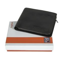 Удобное и компактное мужское портмоне из качественной натуральной кожи от Sergio Belotti, арт. 3644 ancona black