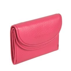 Кожаный женский кошелек розового цвета, с двумя отделами для купюр от Sergio Belotti, арт. 1107 livorno pink