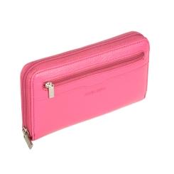 Элегантный женский кошелек из натуральной кожи розового цвета от Sergio Belotti, арт. 3160 livorno pink