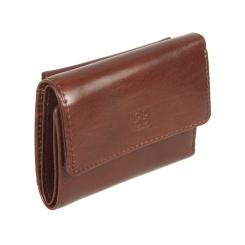 Стильное мужское портмоне из натуральной кожи коричневого цвета от Sergio Belotti, арт. 3670 milano brown