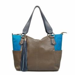 Элегантнаяженская сумка на плечо измягкой натуральной кожи от Taoko Tanishi, арт. ТТ-268-2176