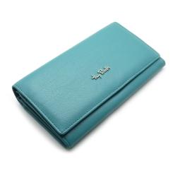 Кожаный женский кошелек бирюзового цвета, модель с двумя отделами от Tony Perotti, арт. 313400/18