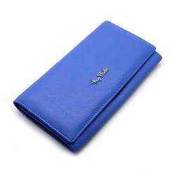 Стильный женский кошелек голубого цвета из плотной натуральной кожи от Tony Perotti, арт. 313413/22