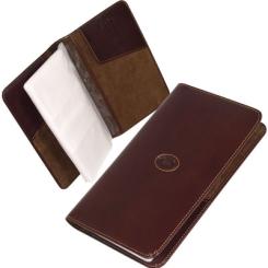 Элегантная визитница коричневого цвета из натуральной кожи от Tony Perotti, арт. 331101/2