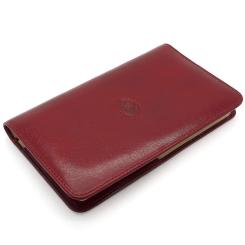 Красивая визитница красного цвета из натуральной кожи от Tony Perotti, арт. 331101/4