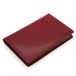 Красивая обложка для документов из красной натуральной кожи от Tony Perotti, арт. 331112/4