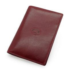 Элегантная обложка для паспорта красного цвета из натуральной кожи от Tony Perotti, арт. 331289/4