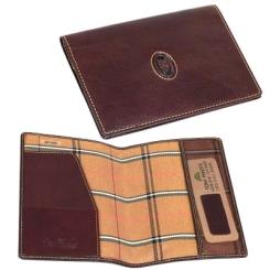 Коричневая обложка для паспорта из натуральной кожи от Tony Perotti, арт. 331290/2