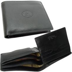 Мужское портмоне из натуральной кожи черного цвета от Tony Perotti, арт. 331427/1