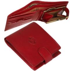 Элегантный женский кошелек из красной натуральной кожи от Tony Perotti, арт. 331428/4