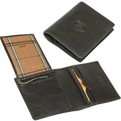 Мужской зажим для денег из натуральной кожи черного цвета от Tony Perotti, арт. 333148/1