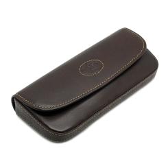 Стильный кожаный футляр для очков из натуральной кожи от Tony Perotti, арт. 334450/2