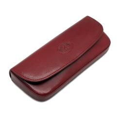 Футляр для очков красного цвета, модель из натуральной кожи от Tony Perotti, арт. 334450/4