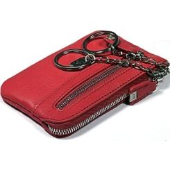 Яркая ключница красного цвета, выполнена из натуральной кожи от Tony Perotti, арт. 561041/4