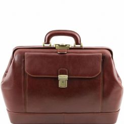 Кожаный саквояж Tuscany Leather LEONARDO TL141299