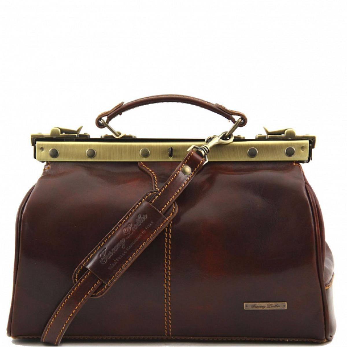 05e135ea739c Кожаный саквояж Tuscany Leather MICHELANGELO TL10038 (в наличии ...